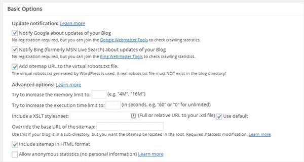 ایجاد نقشه سایت در وردپرس با افزونه Google XML Sitemaps