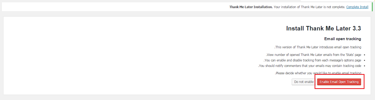 ارسال ایمیل تشکر به نظر دهندگان در وردپرس با Thank Me Later