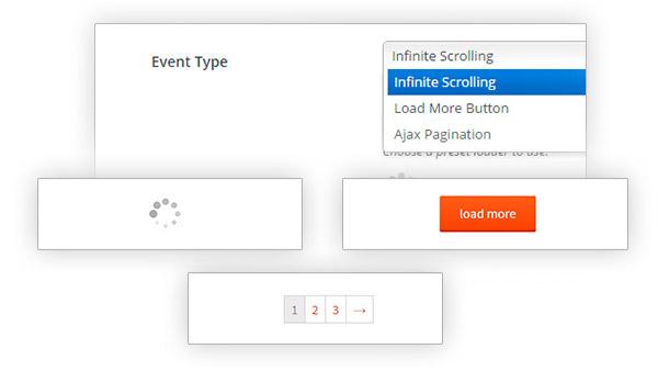 افزونه اسکرول بی نهایت محصولات ووکامرس YITH Infinite Scrolling