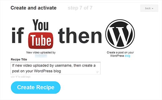 ایجاد خودکار پست وردپرس از یوتیوب