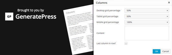 ستون بندی محتوا در وردپرس با افزونه Lightweight Grid Columns