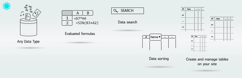 ایجاد جداول واکنشگرا در وردپرس با افزونه Data Tables Generator by Supsystic