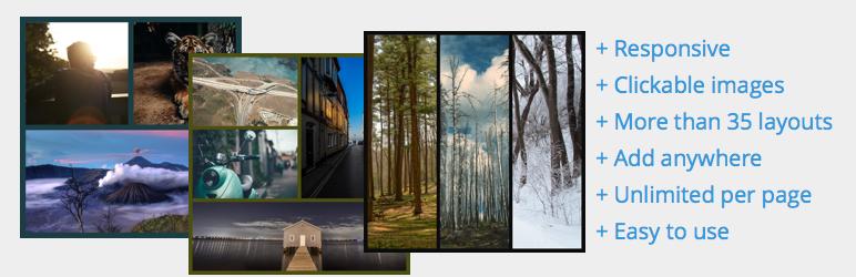 قاب بندی تصاویر در وردپرس با کمک افزونه Easy Image Collage