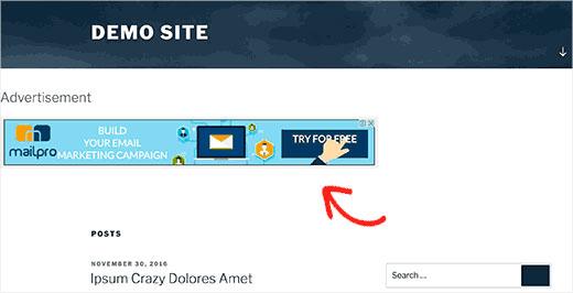 اضافه کردن ابزارک وردپرس به هدر سایت