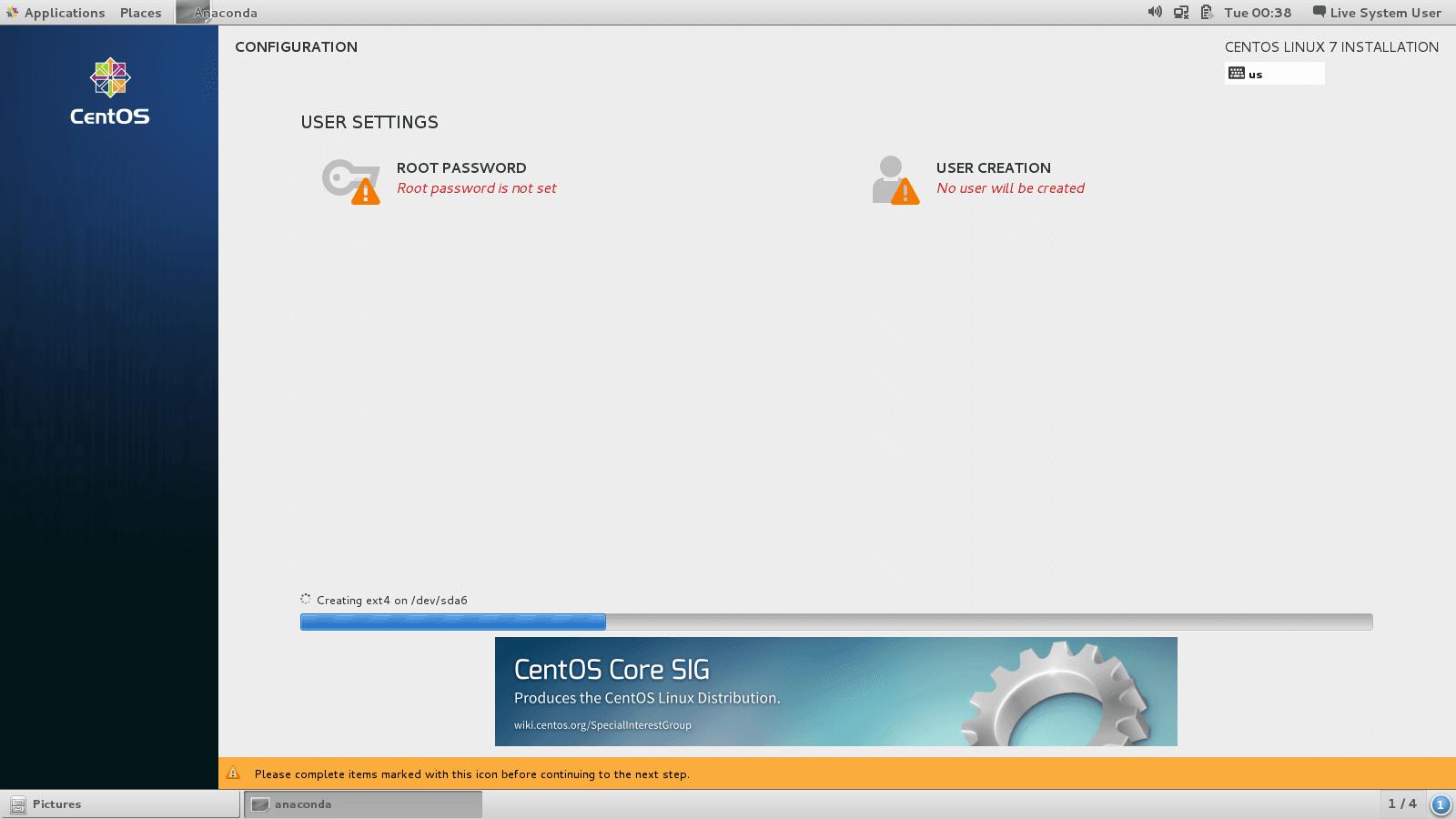 آموزش نصب لینوکس CentOS 7 روی کامپیوتر شخصی یا سرور