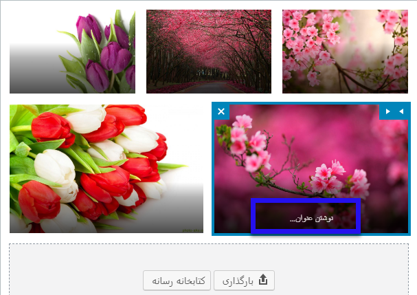 اضافه کردن گالری تصاویر به مطالب سایت وردپرسی