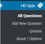 ساخت آزمون آنلاین در وردپرس با افزونه HD Quiz