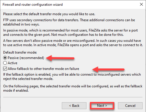 حل خطای ECONNREFUSED connection refused by server در FileZilla