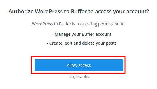 آموزش انتشار خودکار مطالب در شبکه های اجتماعی WordPress to Buffer