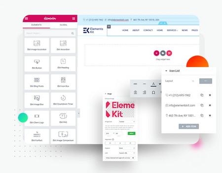 افزودن ویجیت و ابزارک های حرفه ای به المنتور با افزونه ElementsKit