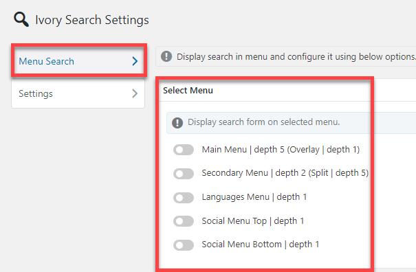 اضافه کردن فرم جستجو به سایت وردپرس با افزونه Ivory Search