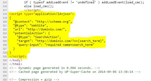 اضافه کردن جعبه جستجو در نتایج گوگل با افزونه Sitelinks Search Box