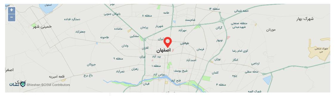 جایگزین نقشه گوگل در وردپرس با افزونه Neshan Maps