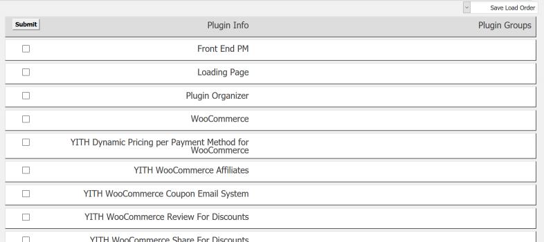 افزایش سرعت وردپرس با سازماندهی افزونهها با Plugin Organizer