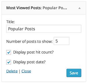 افزونه نمایش بازدید مطالب وردپرس Post Hit Counter