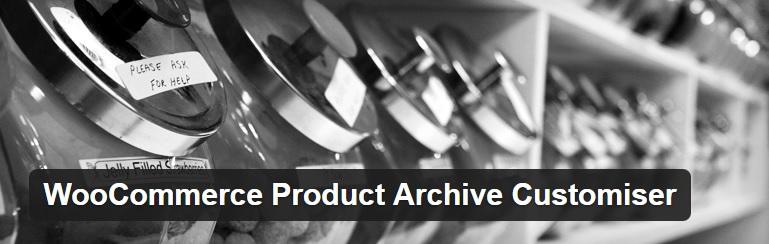 افزونه سفارشی سازی آرشیو محصولات ووکامرس WooCommerce Product Archive Customiser