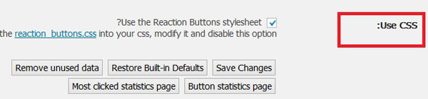 افزونه وردپرس امتیاز دهی به مطالب Reaction Buttons