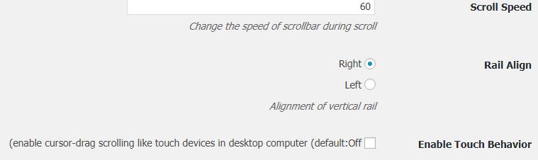 سفارشی کردن اسکرول بار در سایت وردپرسی