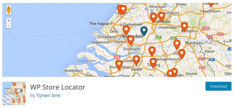 نمایش موقعیت فروشگاه ها بر روی نقشه در وردپرس با افزونه WP Store Locator