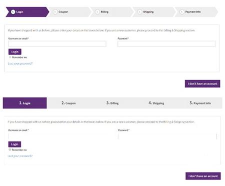 افزونه تسویه حساب چندمرحله ای ووکامرس WooCommerce MultiStep Checkout Wizard