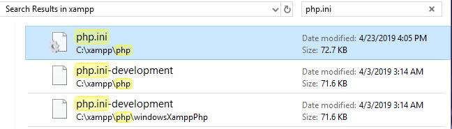 حل مشکل سرعت در لوکال هاست با افزایش مموری PHP