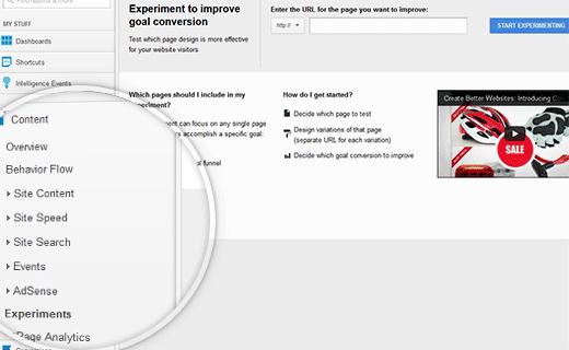 تست A/B صفحات فرود با استفاده از گوگل آنالیتیکس