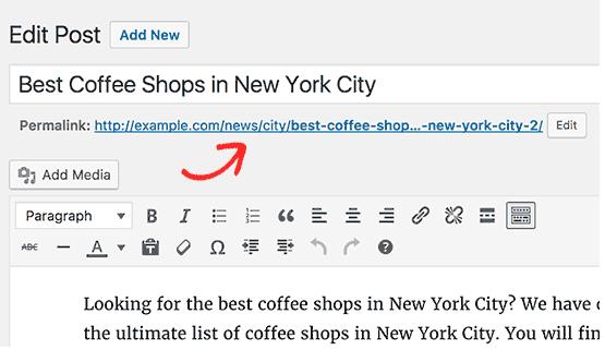 اضافه کردن دسته بندی به آدرس مطالب وردپرس