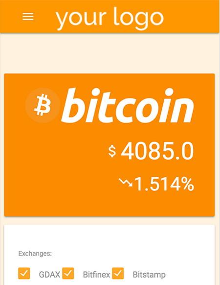 اسکریپت مشاهده زنده قیمت بیتکوین Bitcoin Live Trading