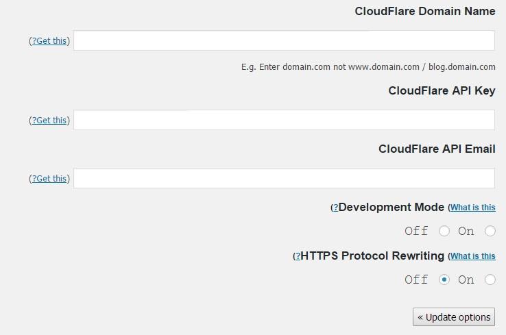 افزایش امنیت و بهینه سازی وردپرس با Cloudflare