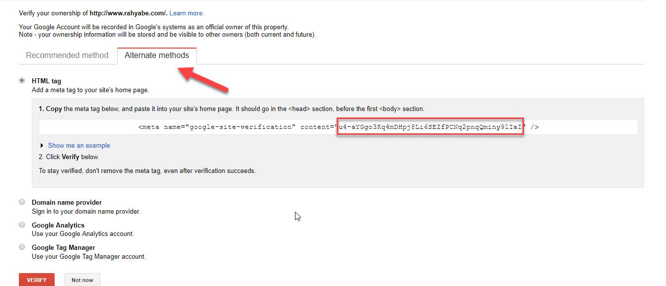 آموزش ثبت سایت در گوگل وبمستر تولز (سرچ کنسول) از روش اصولی
