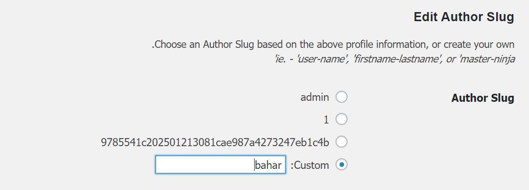 چگونه آدرس صفحه نویسنده در وردپرس را تغییر دهیم؟