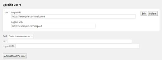 هدایت کاربران به صفحه خاص پس از ورود با افزونه Peter's Login Redirect