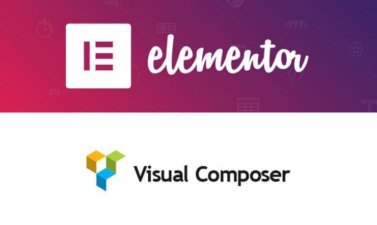 Visual Composer یا Elementor ، کدامیک را انتخاب میکنید؟