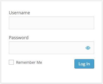 نمایش یا عدم نمایش رمز در فرم ورود وردپرس