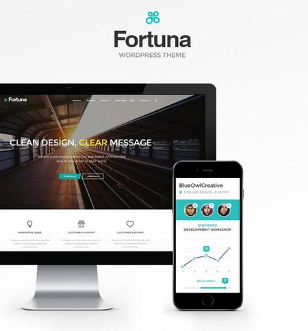 دانلود قالب چندمنظوره Fortuna برای وردپرس