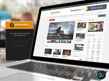 دانلود قالب خبری وردپرس Goodnews فارسی نسخه 5.9.5