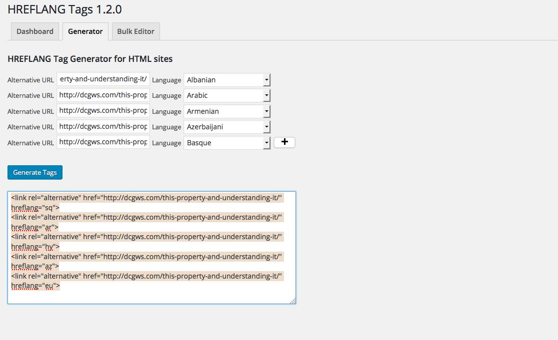 پیاده سازی هوشمندانه متا تگ های HREFLANG در وردپرس