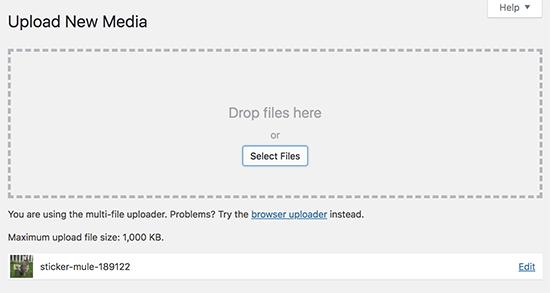 حل خطای http موقع آپلود تصاویر در وردپرس