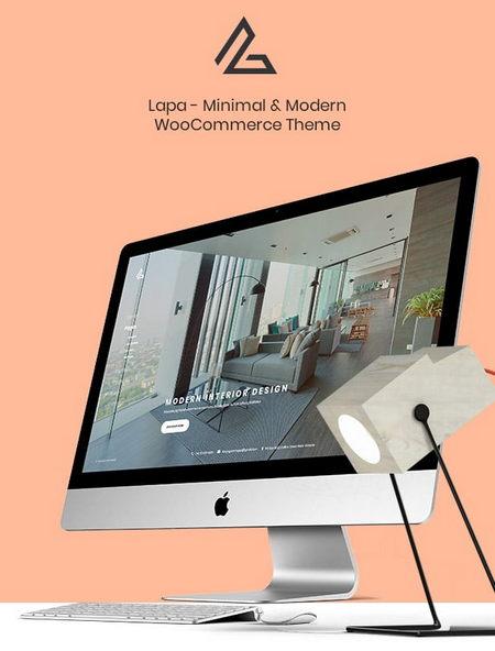 دانلود قالب مینیمال و فروشگاهی Lapa برای ووکامرس