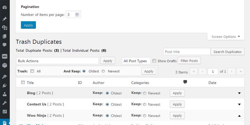 آموزش حذف پست های تکراری در وردپرس