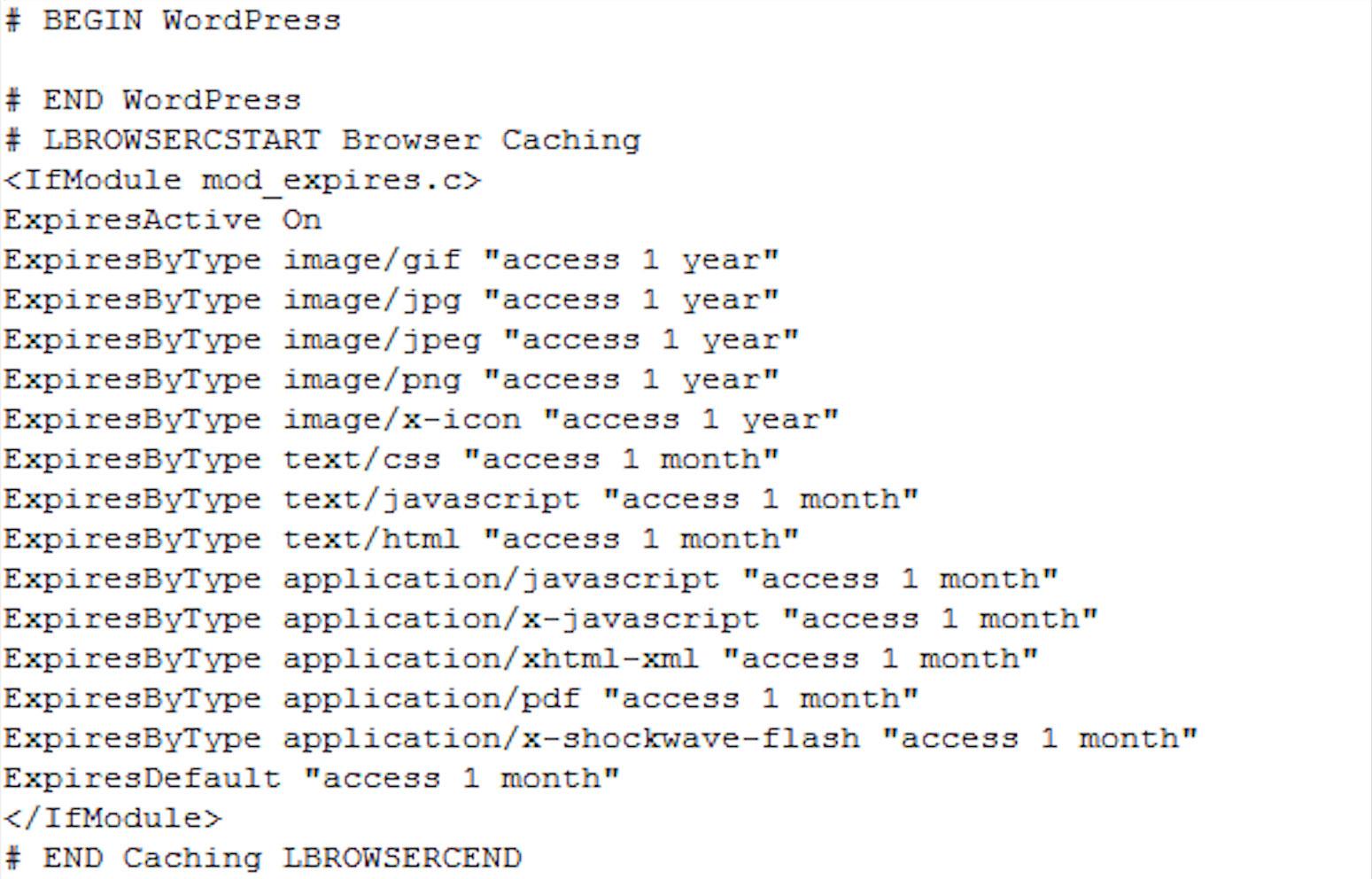 فعالسازی کش مرورگر در وردپرس با افزونه Leverage Browser Caching