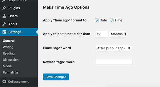 افزونه نمایش دقیق زمان انتشار مطالب در وردپرس