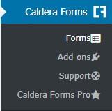 ایجاد فرم های واکنش گرا در وردپرس با افزونه Caldera Forms