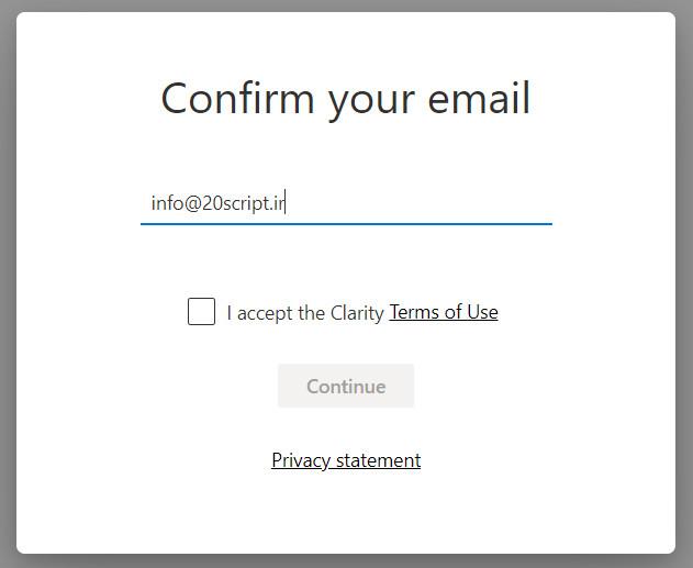 آموزش نصب آمارگیر Microsoft Clarity در وردپرس