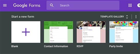 ایجاد فرم در وردپرس با استفاده از Google Forms