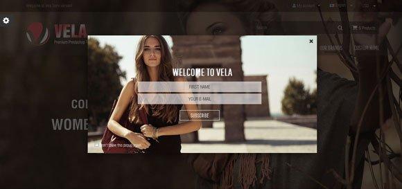 دانلود قالب فروشگاهی Vela برای پرستاشاپ