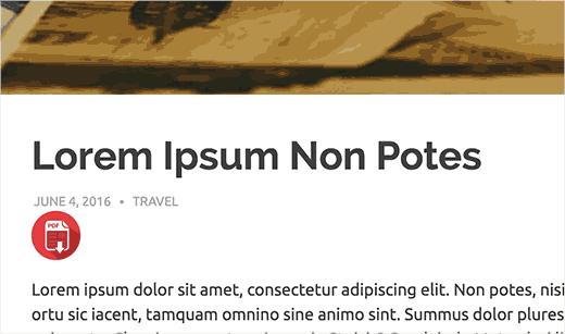 تبدیل نوشته ها ی وردپرس به PDF