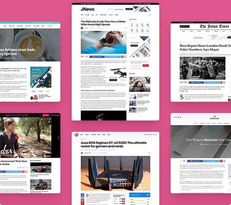 دانلود قالب مجله ای JNews برای وردپرس