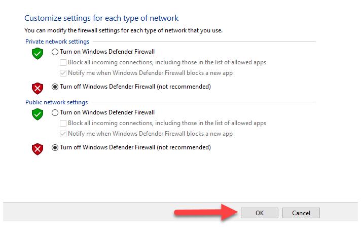 حل خطای ECONNREFUSED connection refused by server در FileZilla
