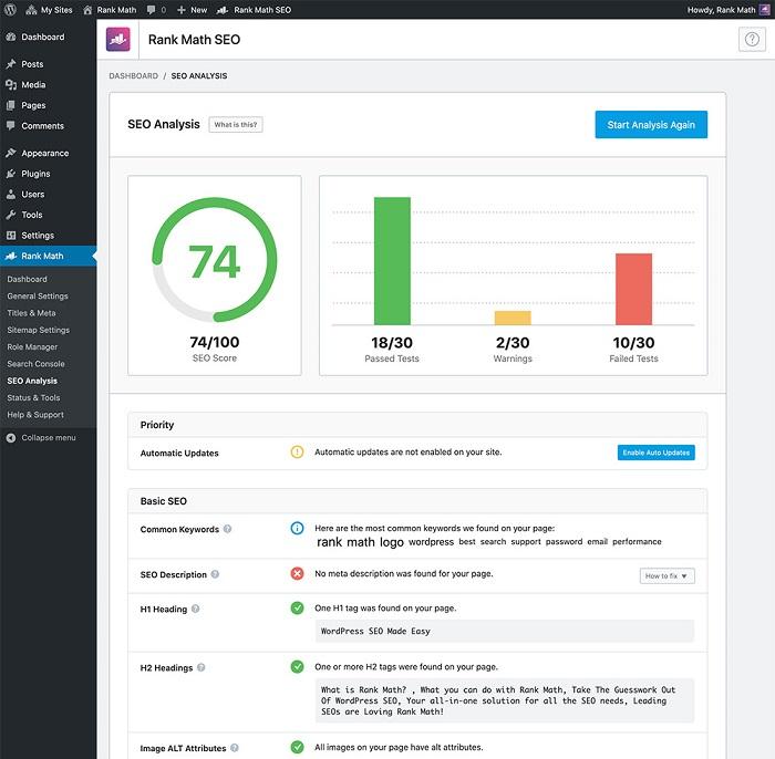 دانلود رایگان افزونه Rank Math Pro – افزایش سئو سایت وردپرسی